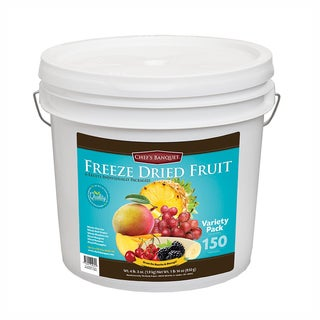 Chef's Banquet Freeze Dried Tropical Fruit (150 Servings)