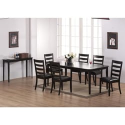 Cappuccino Cherry Veneer 42 X 60 78 Inch Dining Table