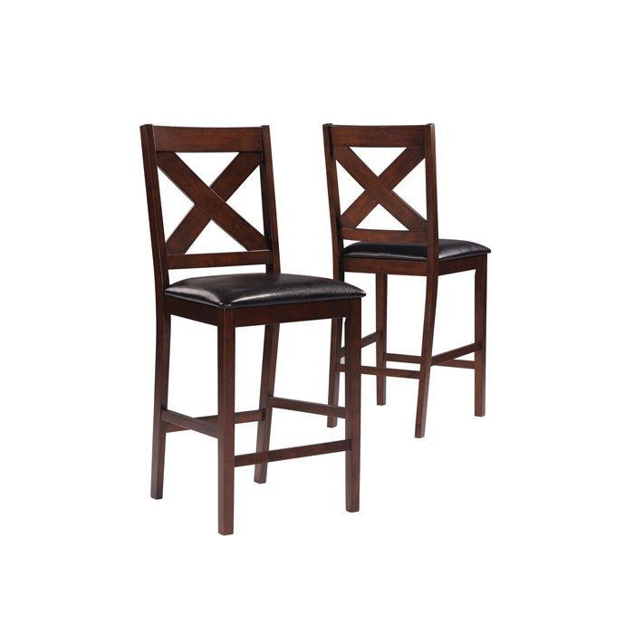 Mocha 41 Inch High Counter Height Stool 2 Pieces Per