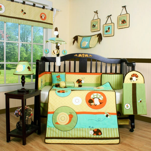 Shop Garden Paradise 13 Piece Crib Bedding Set Free