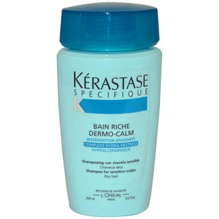 Kerastase Specifique Bain Riche Dermo-Calm Sensitive Scalp 8.5-ounce Shampoo