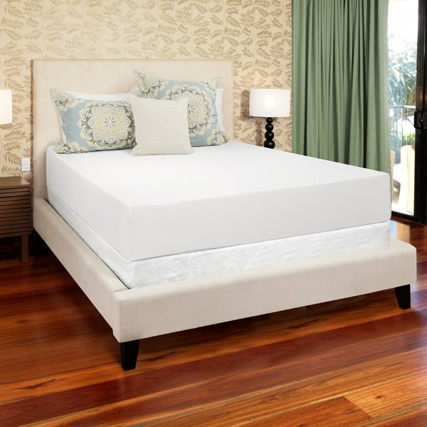 Select Luxury 12-inch King-size Medium Firm Gel Memory Foam Mattress