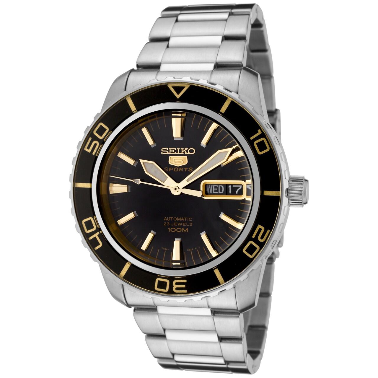 Seiko Men's K1 5 Sports Silver Watch