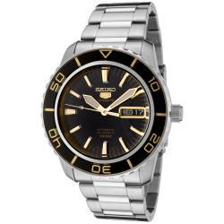 Seiko Men's K1 5 Sports Silver Watch - Thumbnail 0