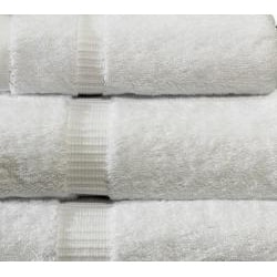 Salbakos White Turkish Cotton 8-piece Towel Set with Bath Sheets - Thumbnail 1