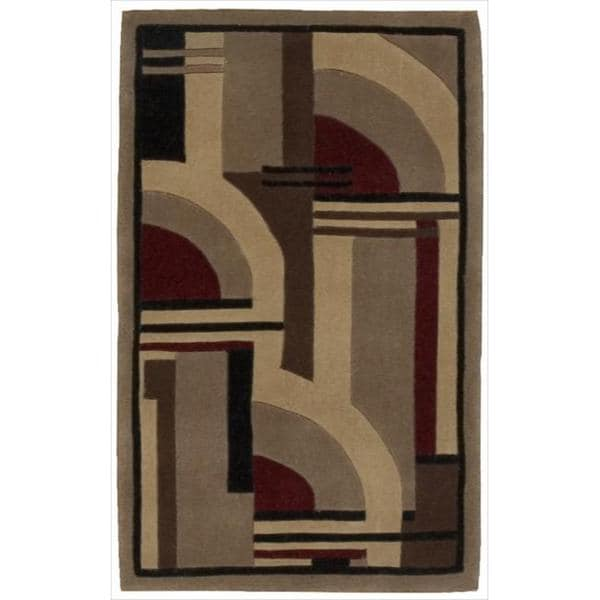 "Nourison Hand-Tufted Dimensions Multicolor Accent Rug (1'9"" x 2'9"") - 1'9 x 2'9"