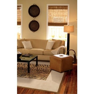 Nourison Hand-tufted Dimensions Brown Rug (1'9 x 2'9)