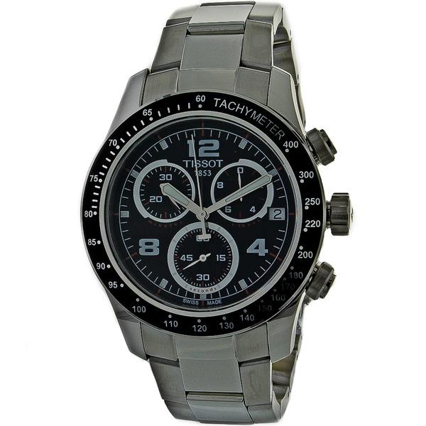 Tissot Men's 'V8' Chronograph Stainless Steel Watch