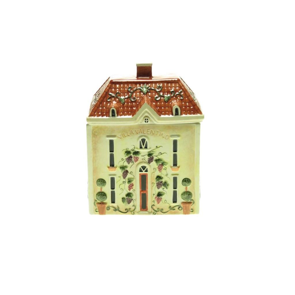 Certified International 'Merlot Sunset' Cottage Cookie Jar