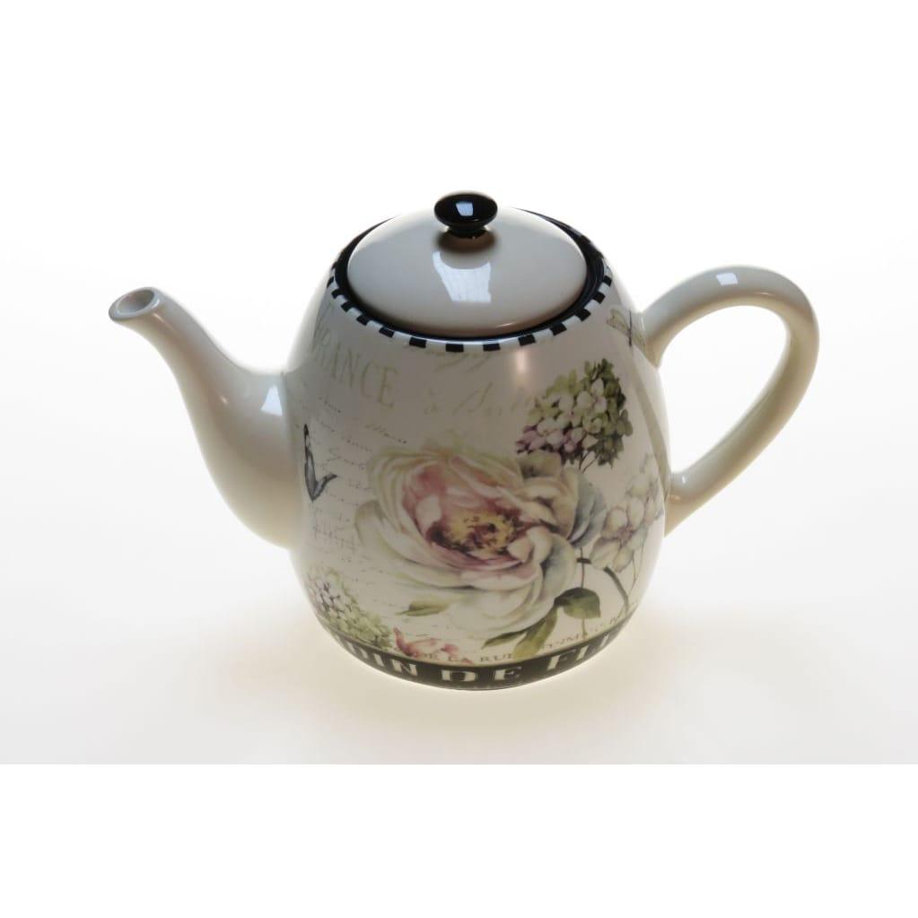 Certified International 'Marche De Fleurs' Teapot