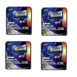Gillette Fusion ProGlide 8-count Refill Cartridges (Pack of 4)