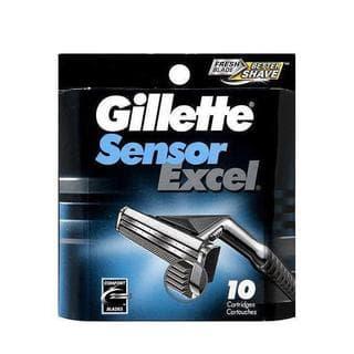 Gillette Sensor Excel 10-count Refill Cartridges (Pack of 4)