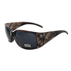 Women's Noir Brown Paisley Fashion Sunglasses