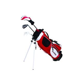 Tour Edge Golf HT Max-J Jr 2x1 Red Left-handed Golf Set with Bag