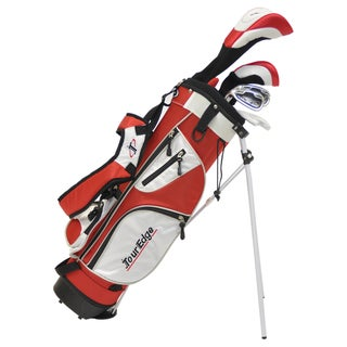 Tour Edge Golf Left-hand HT Max-J Jr 4x1 Golf Set with Bag