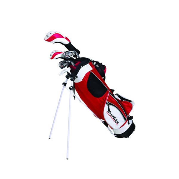 Tour Edge Golf JRH HT Max-J Jr 4x1 Golf Set with Bag