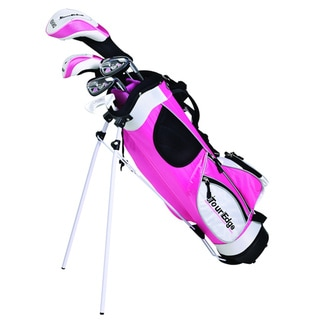Tour Edge Golf HT Max-J Jr 4x1 Graphite Right-handed Golf Set with Bag