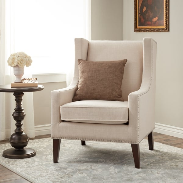Stones U0026amp; Stripes Whitmore Lindy Wingback Chair