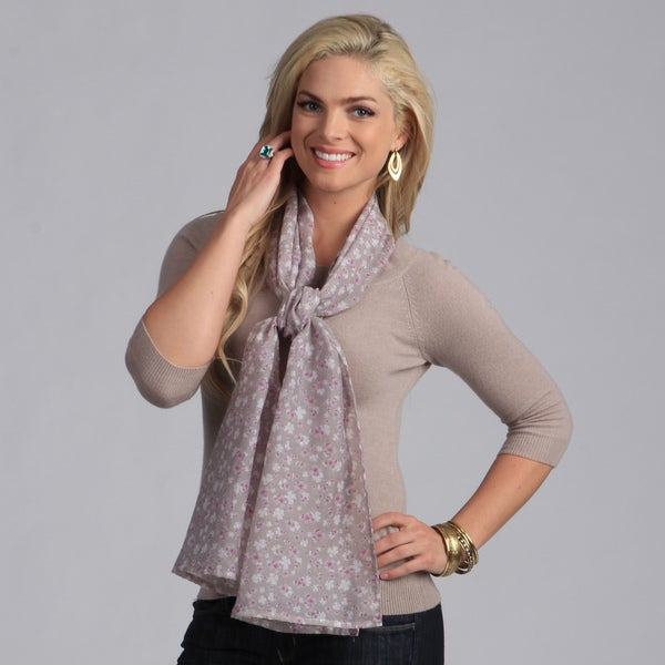 Women's Floral Printed Scarf
