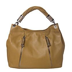 Michael Kors 'Tonne' Sage Leather Hobo Bag