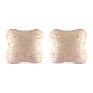 Miadora 18k Gold-plated Cushion-shaped Earrings