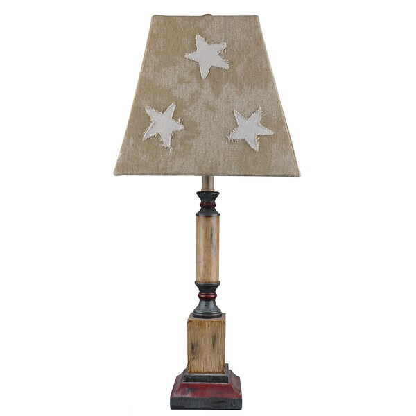 Somette Independence Tall Table Lamp