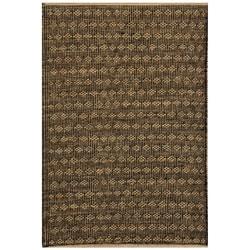 Hand-woven Beige Jute Rug (6' x 9') - 6' x 9' - Thumbnail 0