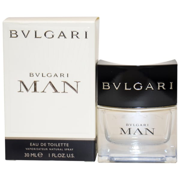 Bvlgari Man Men's 1-ounce Eau de Toilette Spray Fragrance