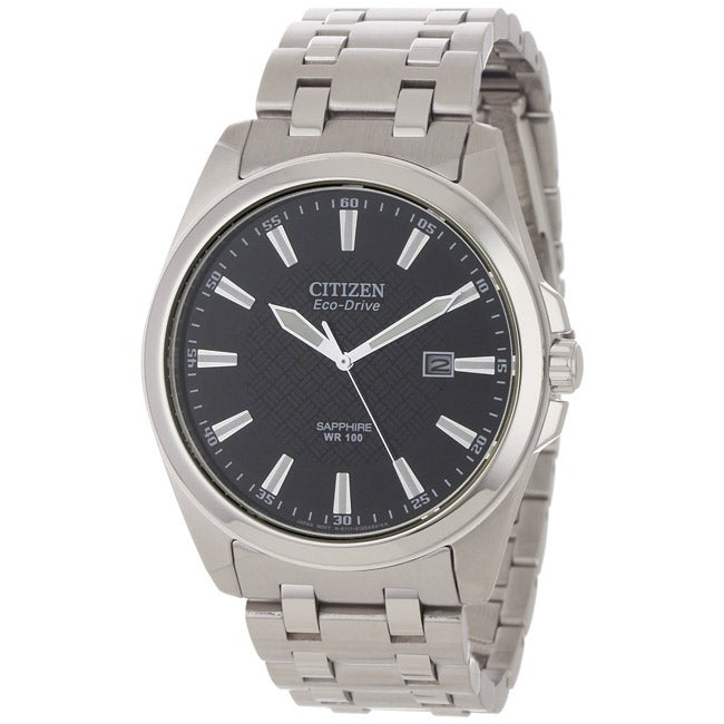 Citizen Eco-Drive Men's WR100 Watch - 14339649 - Overstock.com