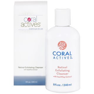 CoralActives Retinol Exfoliating Cleanser