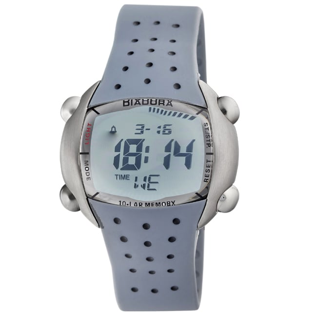 Diadora Men's Green Dial Rubber Digital Date Watch