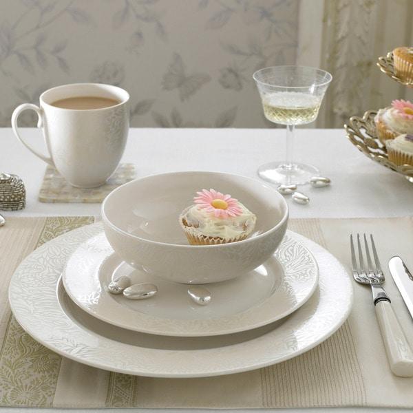 Denby Monsoon Lucille Gold 16-piece Dinnerware Set
