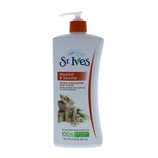 St. Ives Naturally Soothing Oatmeal & Shea Butter 21-ounce Body Lotion