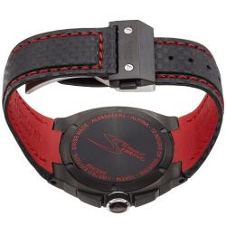 Alpina Men's 'Racing' Black Dial Chronograph Quartz Watch