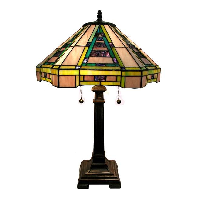 Warehouse of Tiffany Indoor Bronze Finish Lamp
