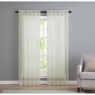 VCNY Infinity Sheer Rod Pocket Curtain Panel