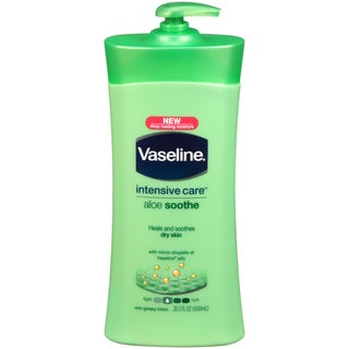 Vaseline Intensive Care Aloe Soothe 20.3-ounce Lotion