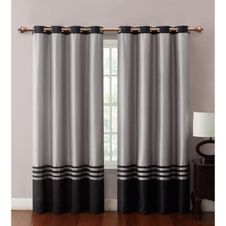 VCNY Barclay Faux Silk Grommet Top 84-inch Panel - 55 x 84