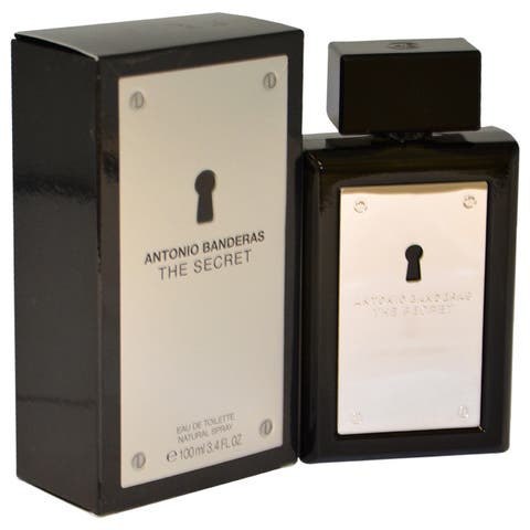 Antonio Banderas The Secret Men's 3.4-ounce Eau de Toilette Spray