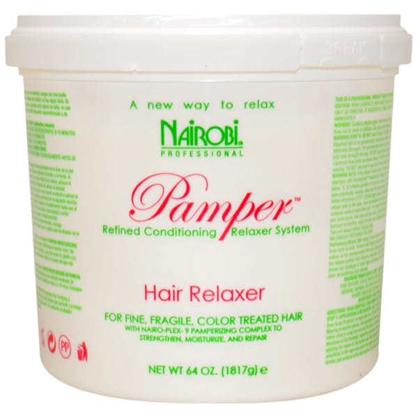 Nairobi Pamper 64-ounce Hair Relaxer