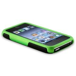 Green and Black Case/ Screen Protectors for Apple iPhone 3G/ 3GS - Thumbnail 2