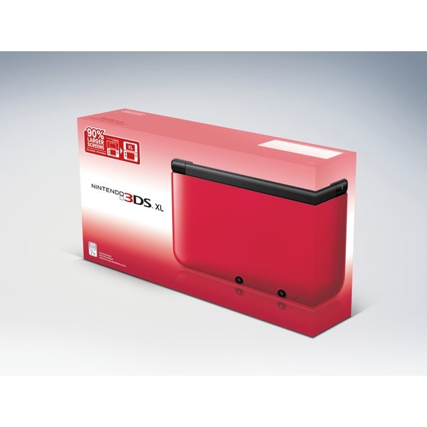 NinDs 3DS XL System - Red/Black