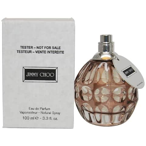 Jimmy Choo Women's 3.3-ounce Eau de Parfum Spray (Tester) - Clear