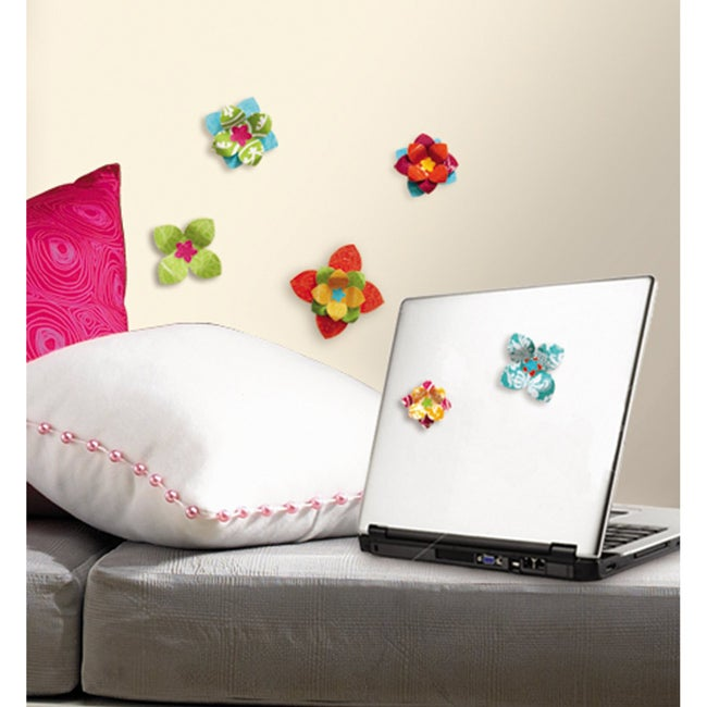 RoomMates Flower 3-D Wall Decals