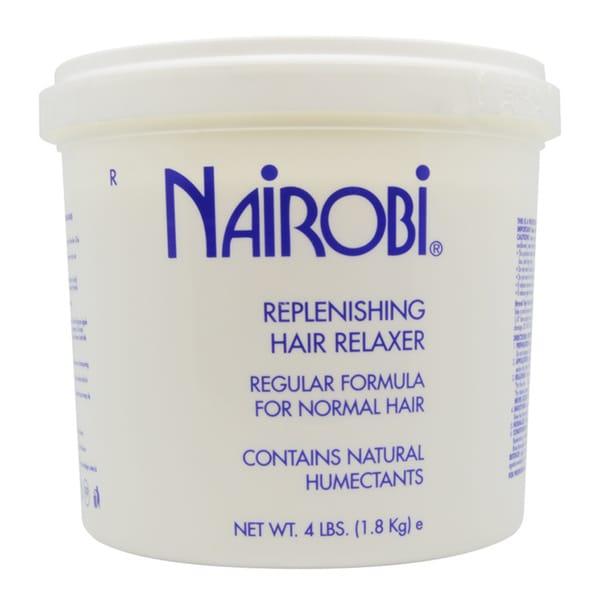 Nairobi Replenishing Hair Relaxer Regular 4-pound Formula
