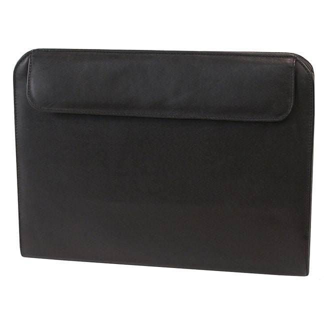 Stebco Leather-Look Legal Writing Zippered Portfolio Padfolio