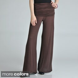 24/7 Comfort Apparel Women's Palazzo Pants (More options available)