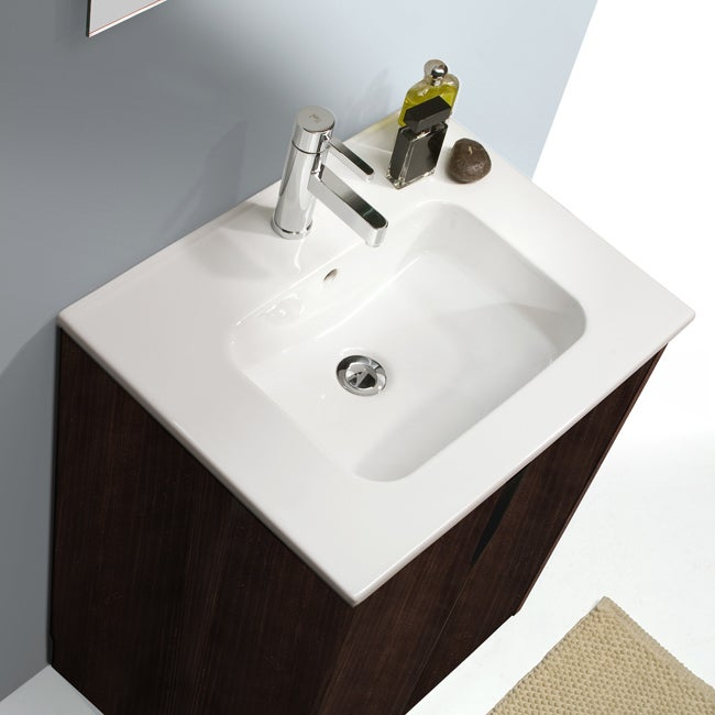Bissonnet Smile Bathroom Ceramic Sink Top