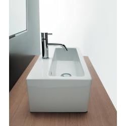 Bissonnet ICE-50 Bathroom Ceramic Sink - Thumbnail 1