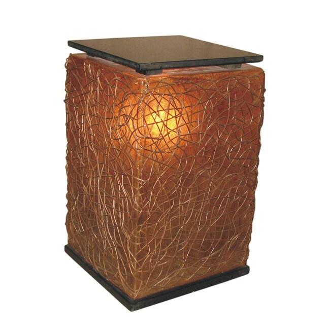 Jeffan Decorative Brown Transitional Paris Table Lamp (Pa...